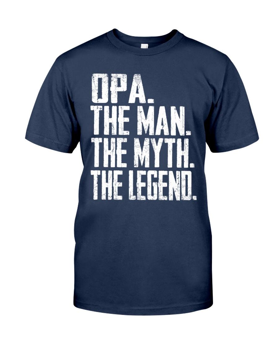 Opa- The Man - The Myth - V2 Classic T-Shirt