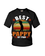 Best Pappy By Par Youth T-Shirt thumbnail