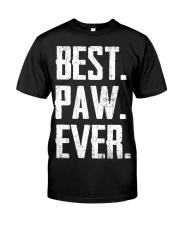 New - Best Paw Ever Classic T-Shirt front