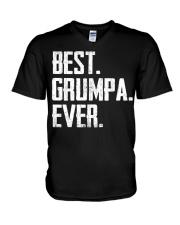 New - Best Grumpa Ever V-Neck T-Shirt thumbnail