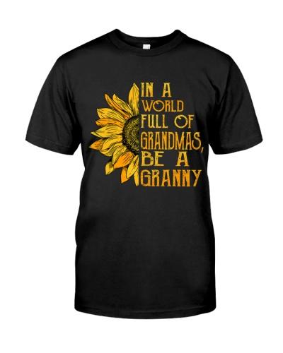 Full of grandma be a granny