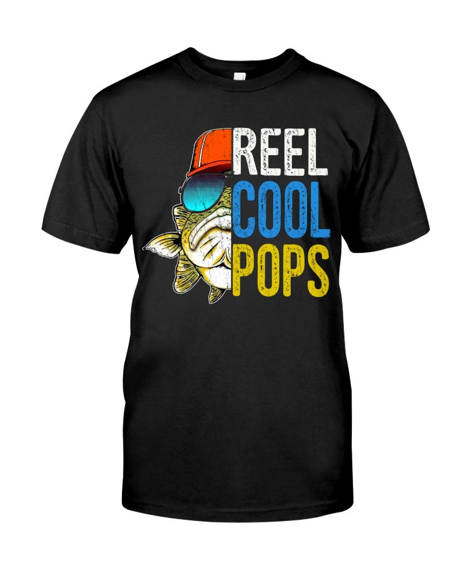 POPS- reel Cool papa - V4 Classic T-Shirt
