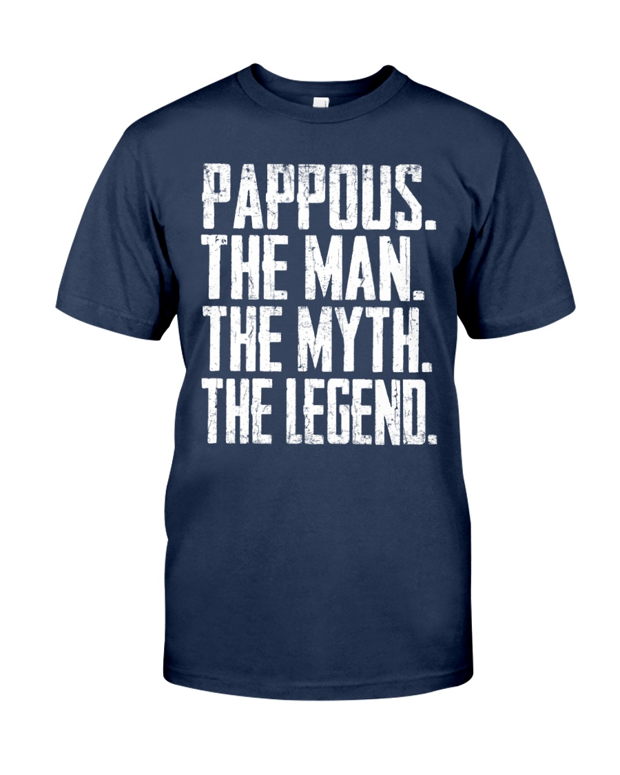 Pappous- The Man - The Myth - V2 Classic T-Shirt