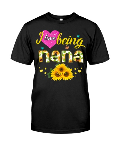 I love being Nana - Sunflower