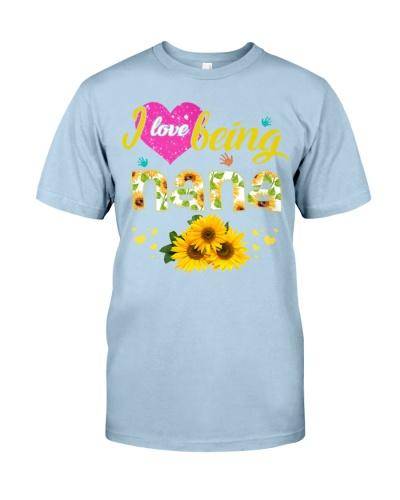 I love being Nana - Sunflower