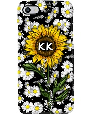 Blessed to be called kk - Sunflower art Phone Case i-phone-7-case