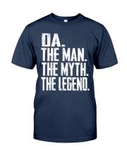 Da - The Man - The Myth - V2 Classic T-Shirt front