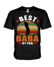 Best Baba By Par V-Neck T-Shirt thumbnail