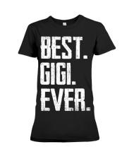 New - Best Gigi Ever Premium Fit Ladies Tee thumbnail