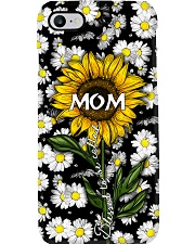 Blessed to be called  mom - Sunflower art Phone Case i-phone-7-case