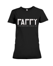 Pappy because grandfather for old guy - RV4 Premium Fit Ladies Tee thumbnail