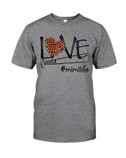 Love mini life - Baseball Classic T-Shirt front