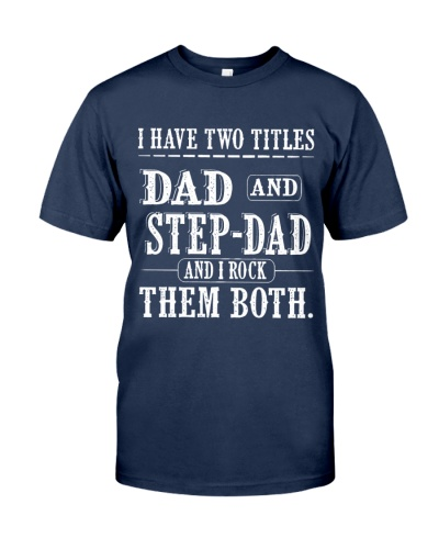 Two titles Dad and Step-dad - V1