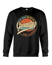 Grampy - The Man - The Myth Crewneck Sweatshirt thumbnail