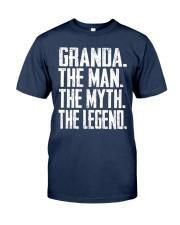 Granda- The Man - The Myth - V2 Classic T-Shirt front