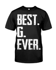 New - Best G Ever Classic T-Shirt front
