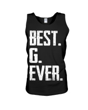 New - Best G Ever Unisex Tank thumbnail