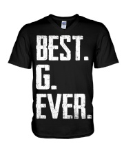 New - Best G Ever V-Neck T-Shirt thumbnail