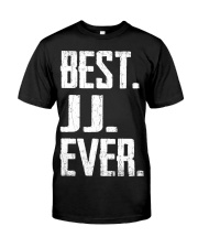 New - Best JJ Ever Classic T-Shirt front