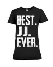 New - Best JJ Ever Premium Fit Ladies Tee thumbnail