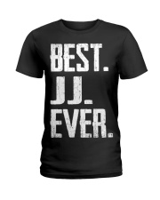 New - Best JJ Ever Ladies T-Shirt thumbnail