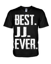 New - Best JJ Ever V-Neck T-Shirt thumbnail