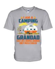 Grandad - Camping Cooler V-Neck T-Shirt thumbnail