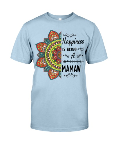 Happiness is being a MAMAW - Flowers
