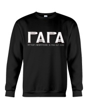 Papa because grandfather for old guy - RV4 Crewneck Sweatshirt thumbnail
