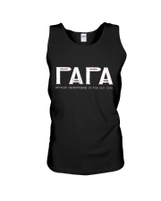 Papa because grandfather for old guy - RV4 Unisex Tank thumbnail