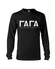 Papa because grandfather for old guy - RV4 Long Sleeve Tee thumbnail