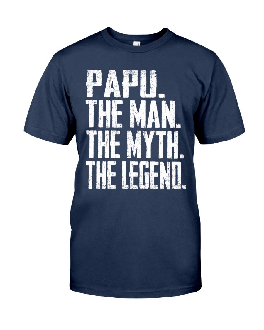 Papu - The Man - The Myth - V2 Classic T-Shirt