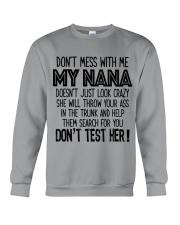 Dont mess with my NANA Crewneck Sweatshirt thumbnail