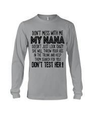Dont mess with my NANA Long Sleeve Tee thumbnail