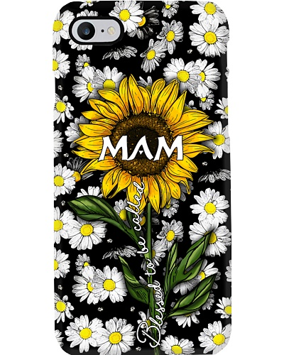 Blessed to be called Mam - Sunflower art