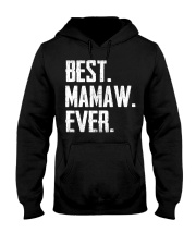 New - Best Mamaw Ever Hooded Sweatshirt thumbnail