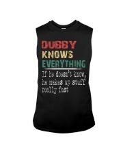 Dubby  knows everything Sleeveless Tee thumbnail