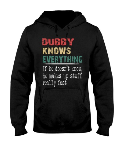 Dubby  knows everything