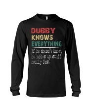 Dubby  knows everything Long Sleeve Tee thumbnail