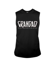Grandad because grandfather for old guy - RV4 Sleeveless Tee thumbnail