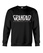 Grandad because grandfather for old guy - RV4 Crewneck Sweatshirt thumbnail