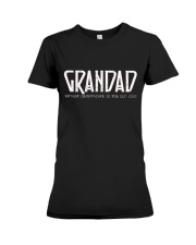 Grandad because grandfather for old guy - RV4 Premium Fit Ladies Tee thumbnail