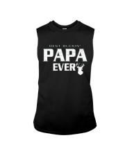 Best buckin' Papa ever RV1 Sleeveless Tee thumbnail