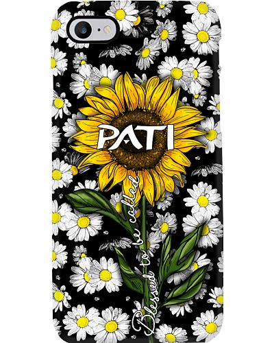 Blessed to be called Pati - Sunflower art