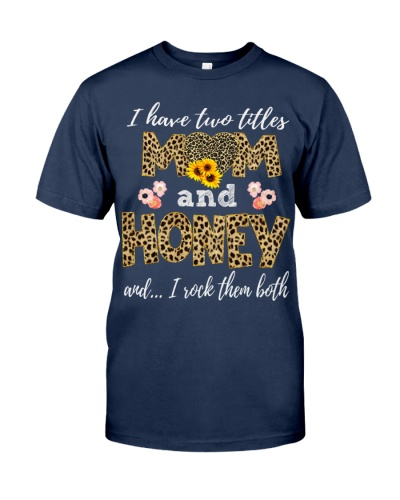Mom and Honey - Leopard Sunflower