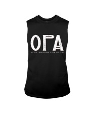 Opa because grandfather for old guy - RV4 Sleeveless Tee thumbnail