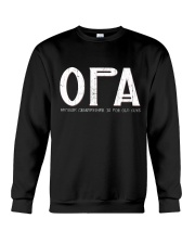 Opa because grandfather for old guy - RV4 Crewneck Sweatshirt thumbnail