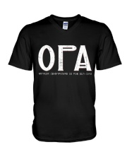 Opa because grandfather for old guy - RV4 V-Neck T-Shirt thumbnail