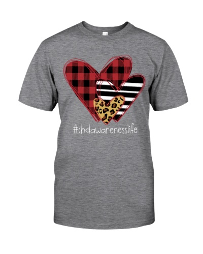 Love chdawareness life - three heart