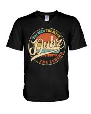 Dubz - The Man - The Myth V-Neck T-Shirt thumbnail